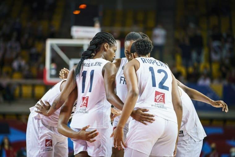 EuroBasket : Les Bleues filent en demie
