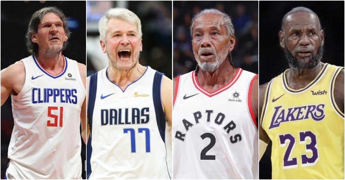 LeBron, Doncic, Curry : à quoi les stars NBA ressembleront dans 40 piges