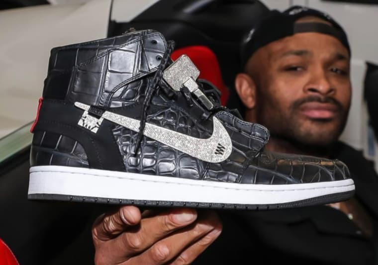 Des Jordan à 250K pour célébrer le titre, le Sneaker King PJ Tucker est un grand malade