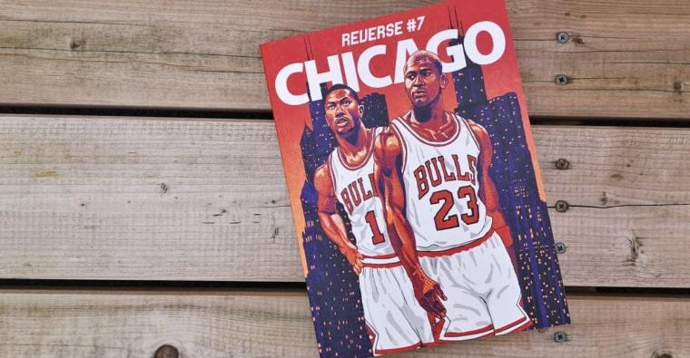 Mook REVERSE #7 : 240 pages pour tout savoir du basket à Chicago