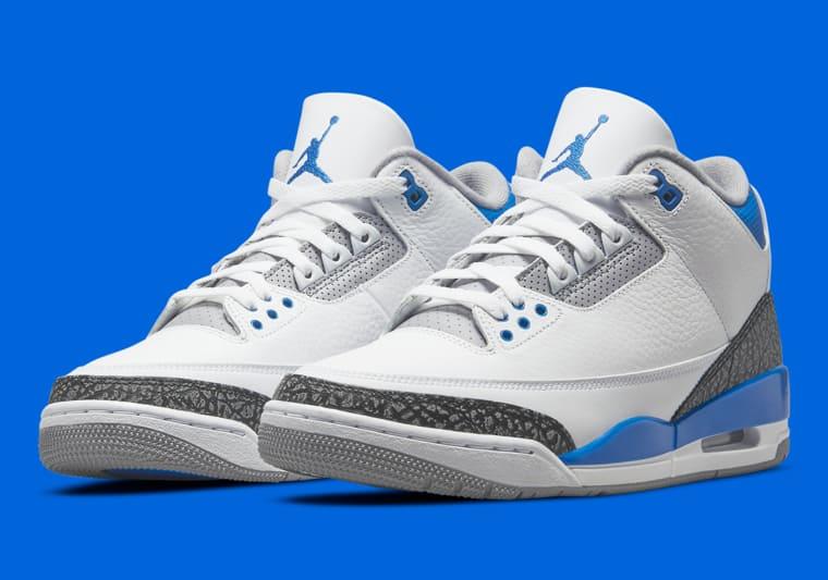 La Air Jordan 3 Racer Blue annoncée pour le 10 juillet