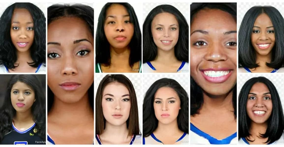 FaceApp : Si les joueurs NBA étaient des joueuses
