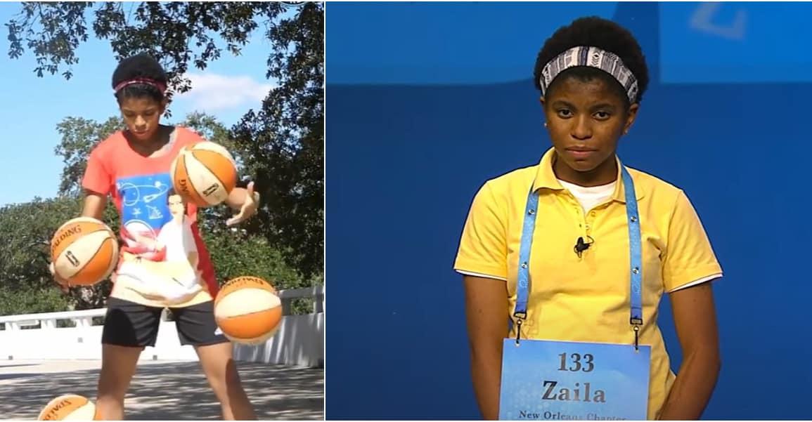 Zaila Avant-Garde, 14 ans, est une prodige du basket… et de l'orthographe