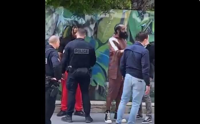 James Harden contrôlé par la police à Paris, une scène surréaliste