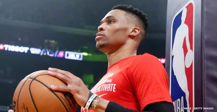 Russell Westbrook : son adresse à 3 pts, la clé de sa réussite aux Lakers ?