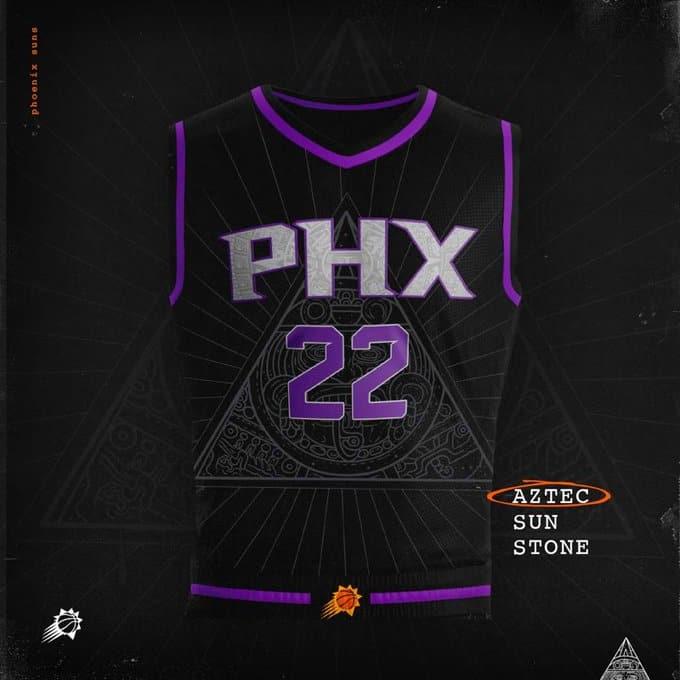 Les Suns présentent un nouveau maillot… un peu particulier