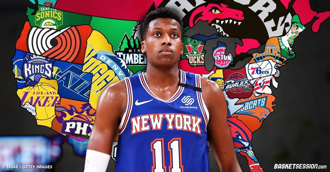 Les 5 meilleures destinations NBA pour Frank Ntilikina
