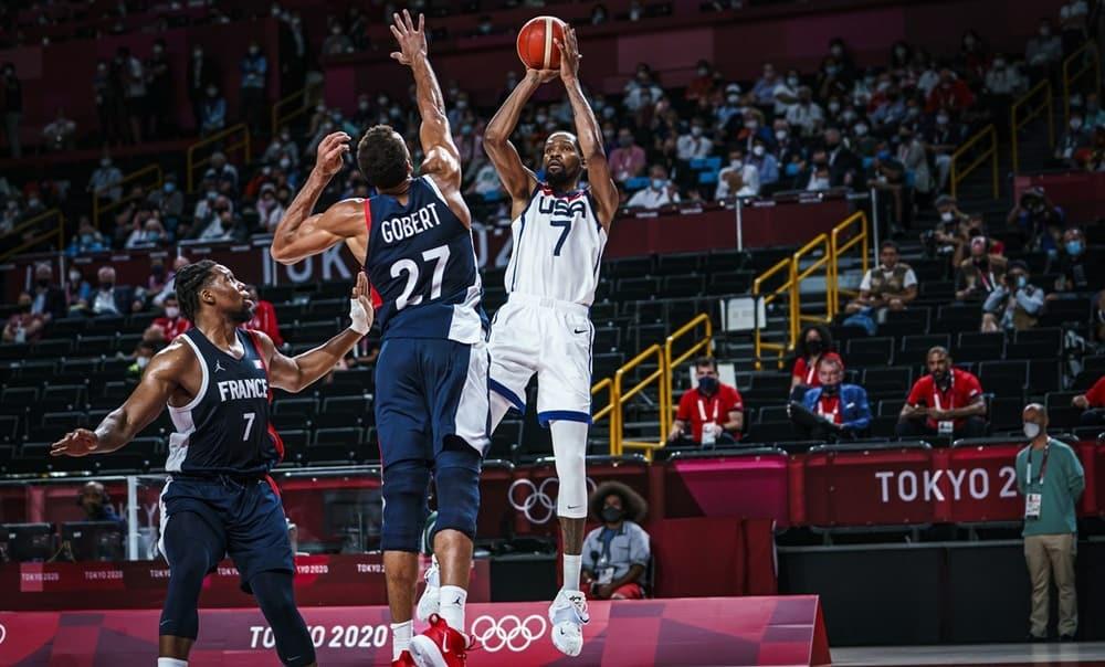 Les Bleus échouent de peu, Team USA décroche la médaille d'or
