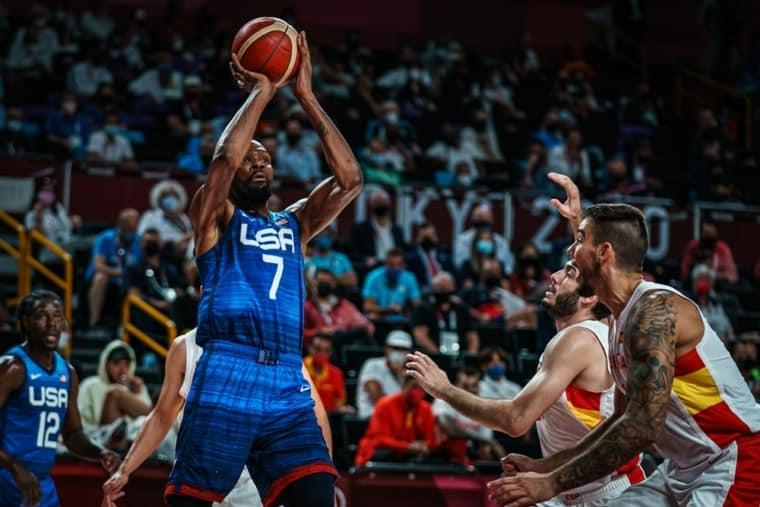 Team USA se débarrasse de l'Espagne malgré un Rubio en feu