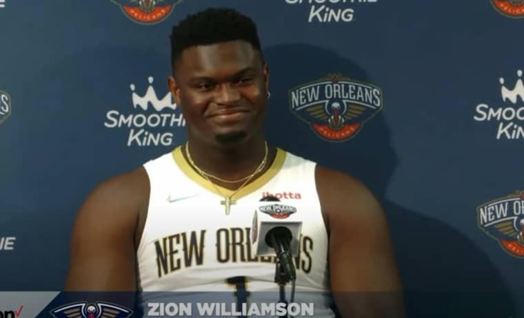 Zion Williamson n'a pas du tout l'air d'être à son poids de forme…
