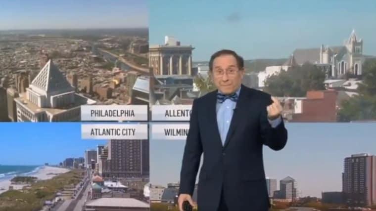 Même le présentateur météo local promet l'enfer à Ben Simmons…