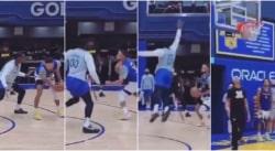 Sans pitié, Stephen Curry enrhume déjà son rookie Jonathan Kuminga