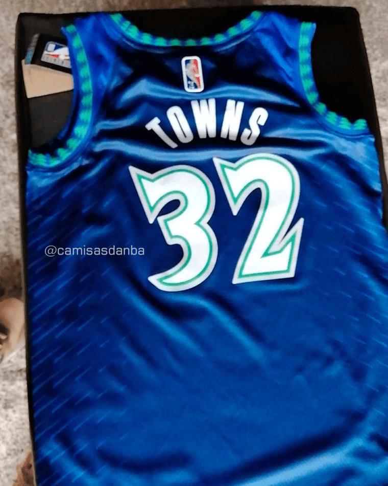 Un nouveau (joli) maillot pour les Timberwolves